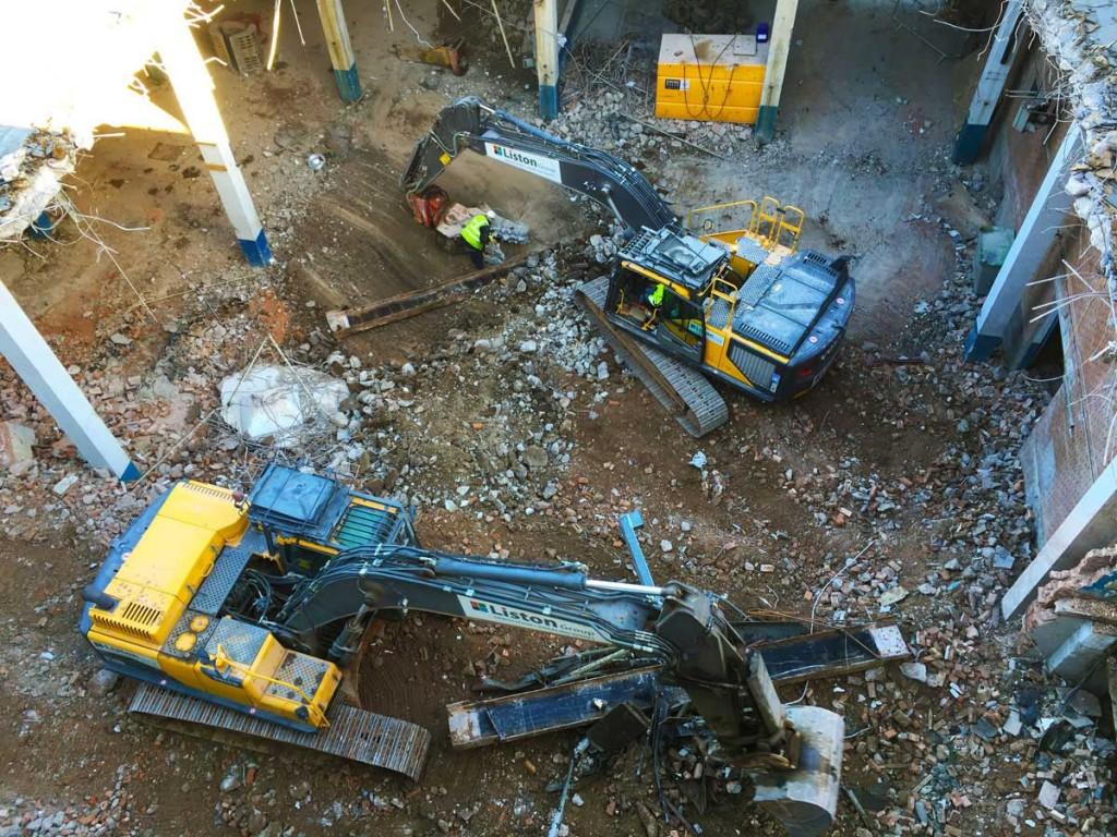 Kettleworks Birmingham Demolition